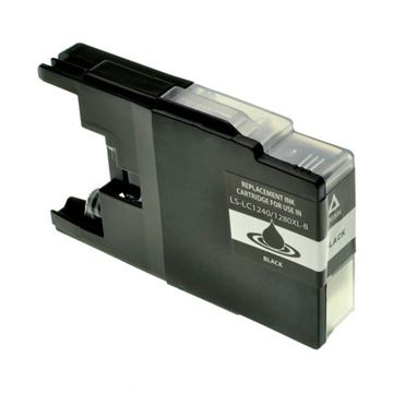 Picture of Cartuccia Ink-Jet Compatibile Brother LC-1240BK