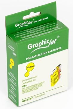 Picture of Cartuccia Ink-Jet Compatibile Brother LC-223Y